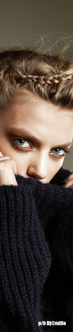 Bregje Heinen / Harper's Bazaar / Braided Up