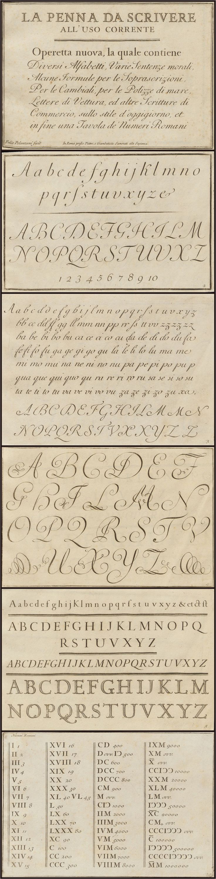 copper plate handwriting alphabet