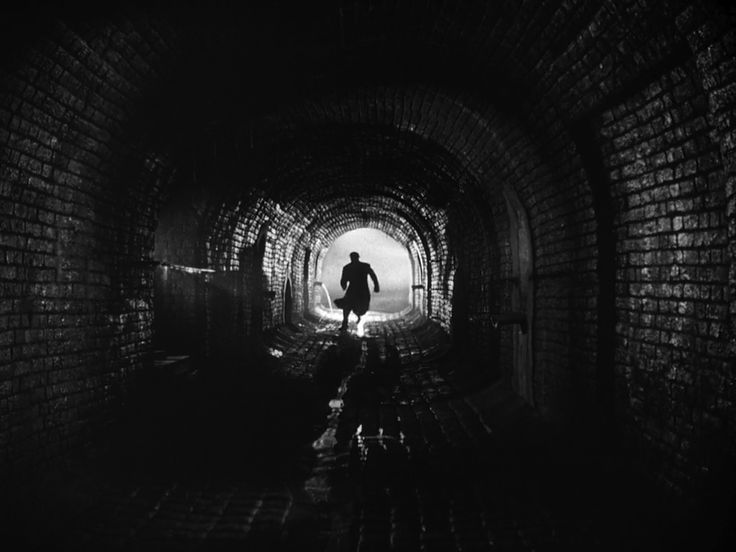 I like this image because it is similar to my tunnel shot in my film noir film.