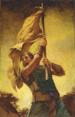 Captain Moroni From The Book Of Mormon Theres A Lot People I Admire