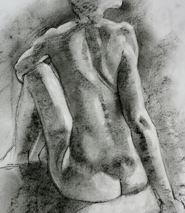 Seated Nude - by Sam Dalby