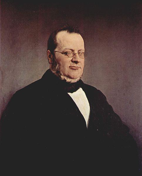 Francesco Hayez, Portrait of Camillo Benso, Conte di Cavour, 1864