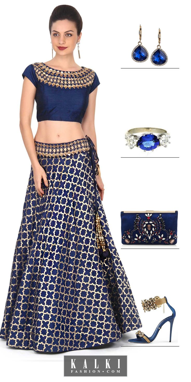 The Engagement Fashionista! #diva #fashion #kalkifashion #engagement