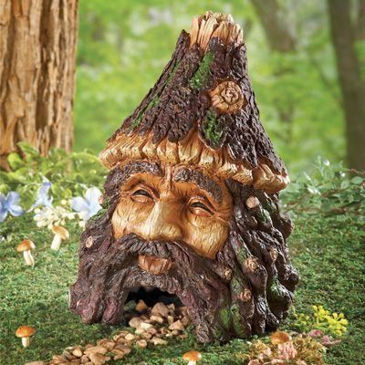Superior Gnome Face Toad House Garden Decor