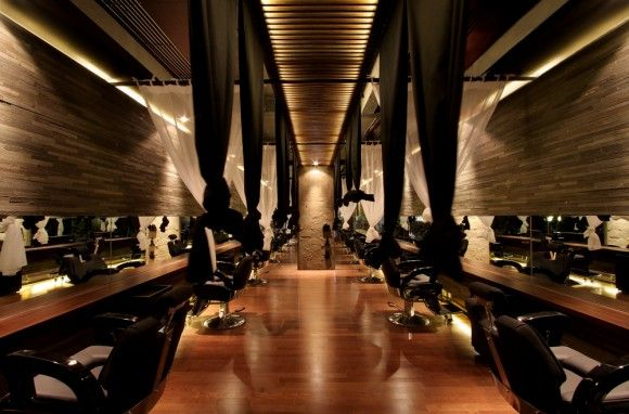 japanese hair salon and spa interior design ideas