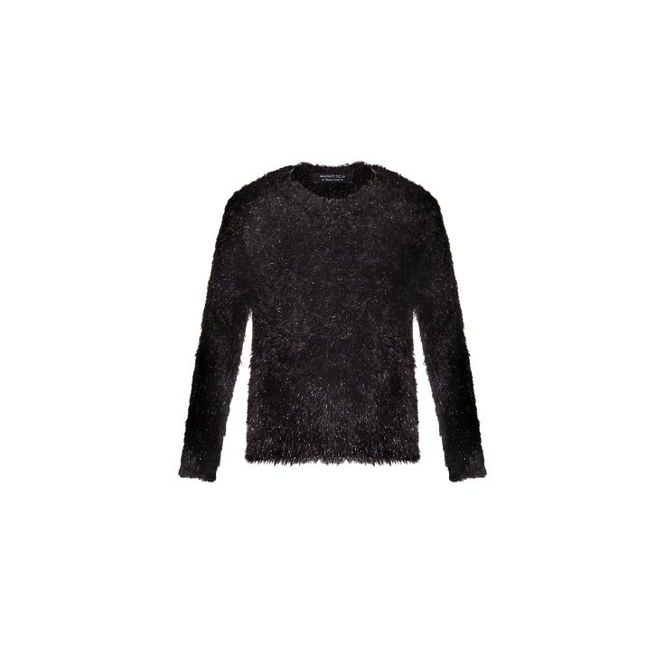 Naughty Dog #FW1415 black tricot #pull with lurex effect.