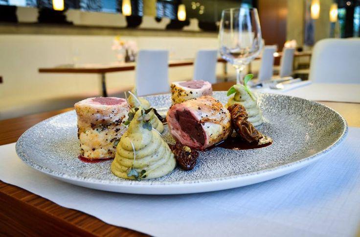 Houbové menu v Restaurace Columna