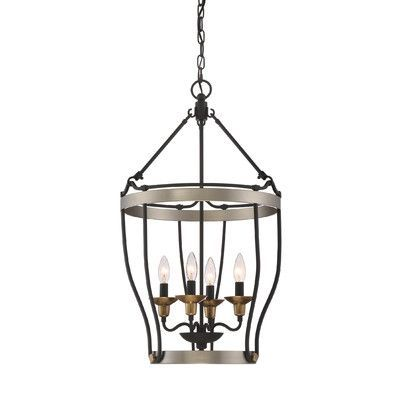 Laurel Foundry Modern Farmhouse Evanston 4 Light Pendant