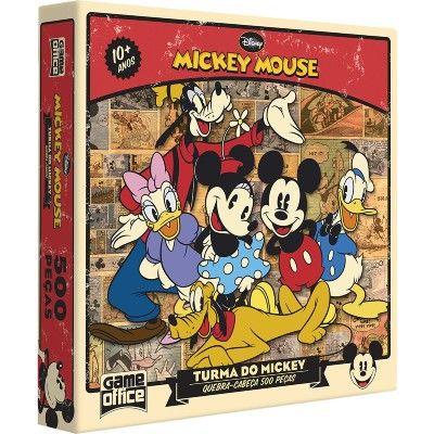Quebra-Cabeça - Turma do Mickey Mouse - 500 Peças - Toyster - PBKIDS