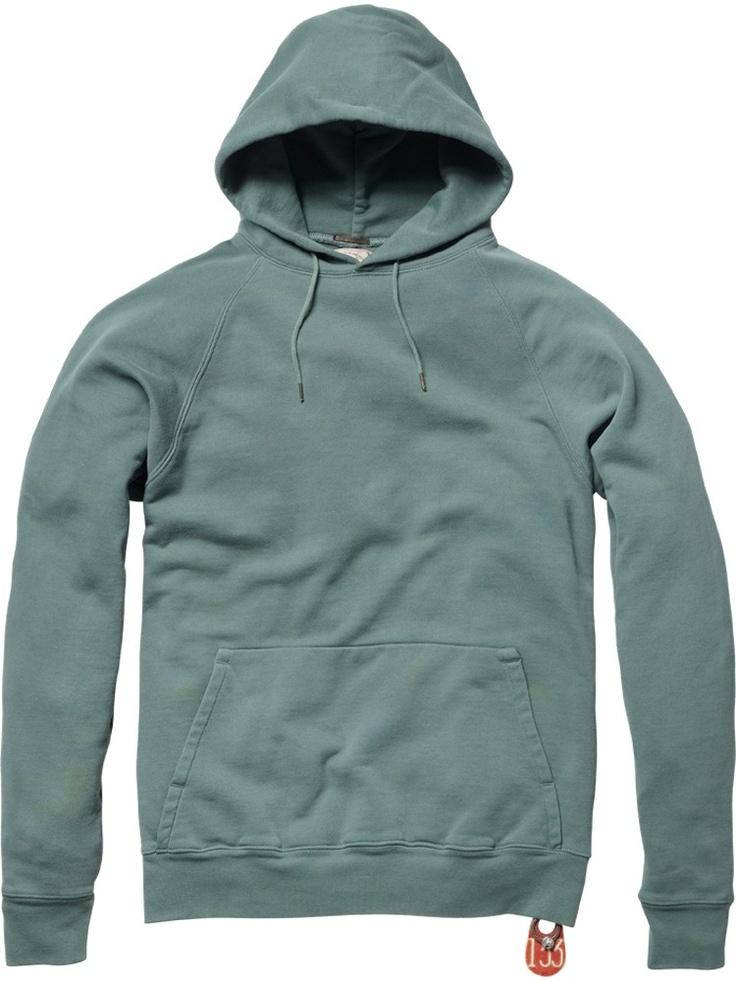 Hooded washed weekend sweater - Sweaters - Scotch & Soda Online Shop