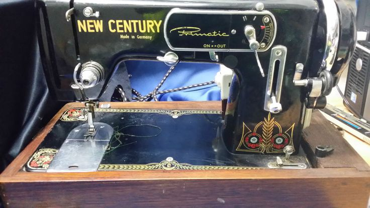 SEWING MACHINE OLD  NEW CENTURY  **CHARITY AUCTION**