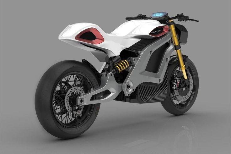 Italian Volt Lacama : une moto électrique personnalisée grâce à l'impression 3D