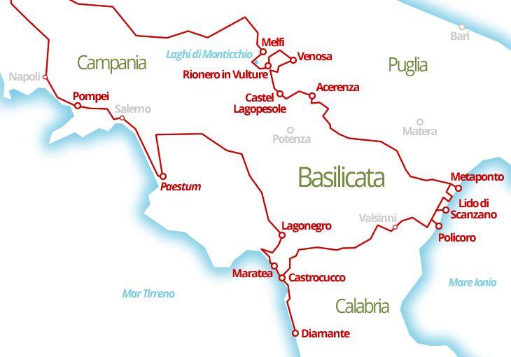 3070 km - La Lucania ed il nostro personalissimo #Basilicata #CoastToCoast da Policoro a Maratea
