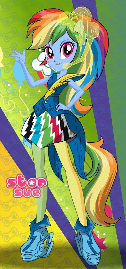 Rainbow Dash Equestria Girls play free - My Little Pony ...