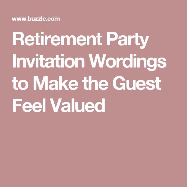 Best 25+ Retirement party invitation wording ideas on Pinterest - retirement party flyer template