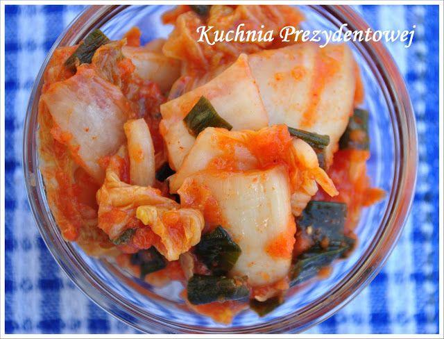 Kuchnia Prezydentowej: Kimchi