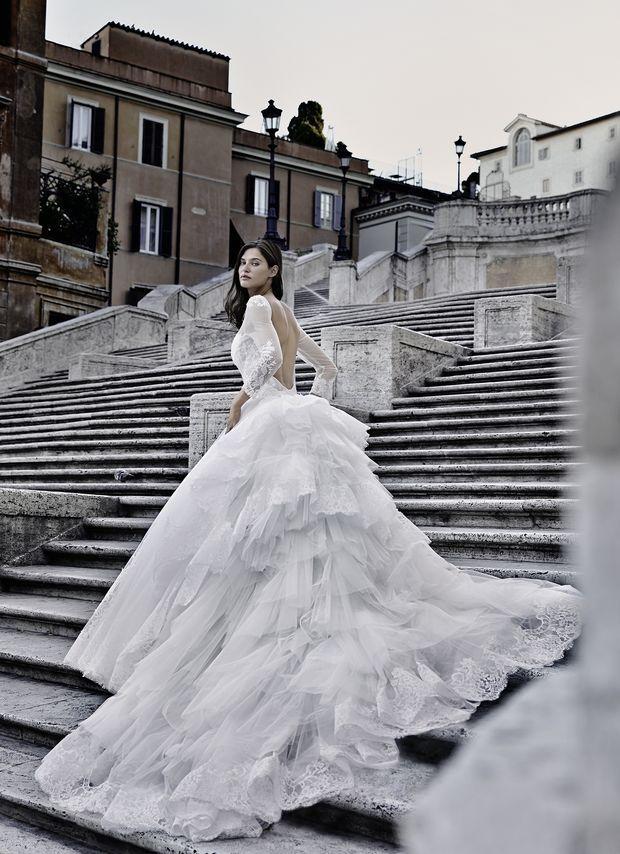 Conosciuto Oltre 25 fantastiche idee su Abiti da sposa italiani su Pinterest  BU99