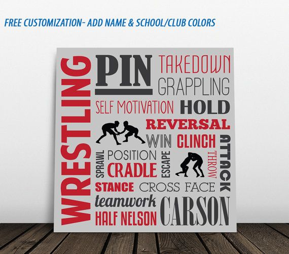 Hey, I found this really awesome Etsy listing at https://www.etsy.com/listing/231925212/wrestling-personalized-wrestling-sign