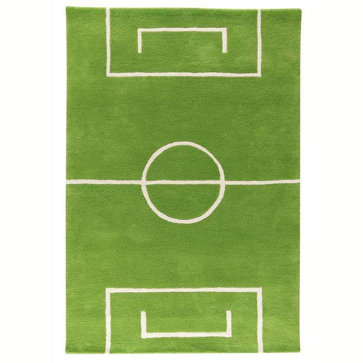 Play Fotball teppe, grønn i gruppen Barnerom hos RUM21 AB (106562 ...