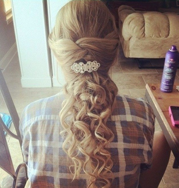 17 Best Ideas About Wedding Hairstyles On Pinterest: 17 Best Ideas About Curly Prom Hairstyles On Pinterest