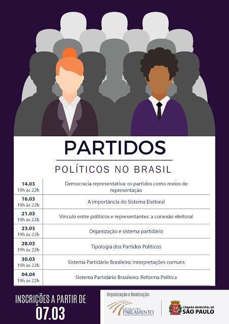 LUIZ DAVID  Opinião e Debate: CURSO: Partidos Políticos no Brasil.