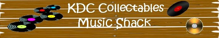 "KDC Collectables online shop at Musicstack - selling vintage music including 7"" & 12"" Vinyl Record, vintage shellac and CD's."