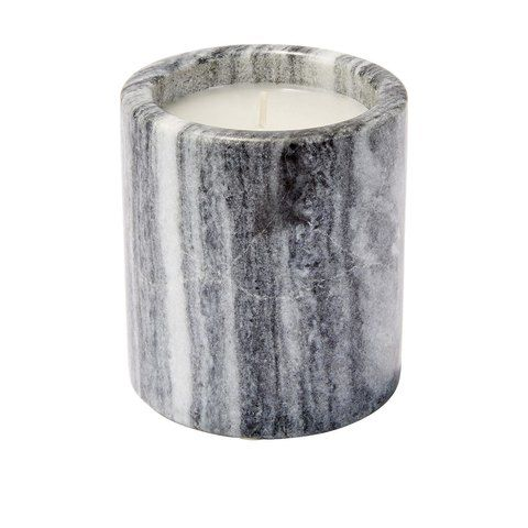 Marble Candle - Grey