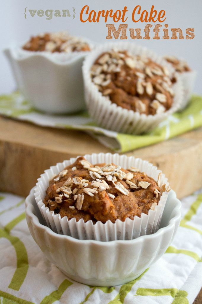 Whole Wheat Carrot Cake Muffins | Carrot Cake Muffins, Carrot Cakes ...