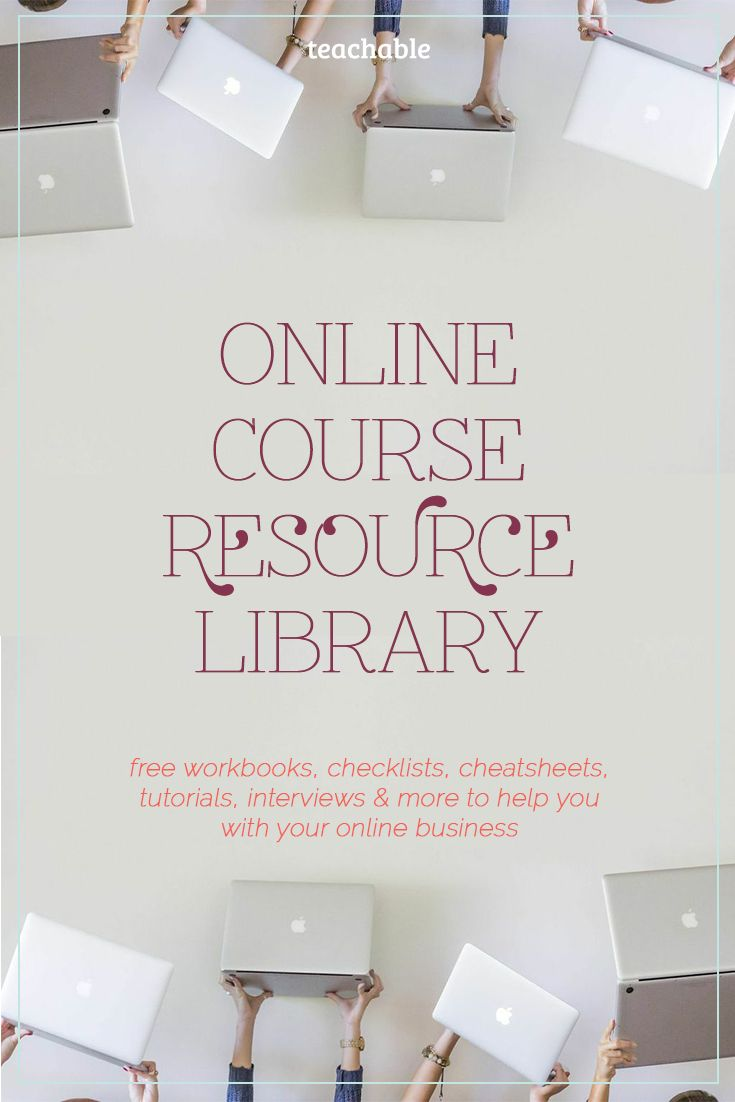 Ready to create and launch your online course? Looking to expand your email list or grow your audience? Interested in making your copy better? Or maybe you need downloadable templates to help you design worksheets? Well, we've got you covered with Teachable's resource library for entrepreneurs just like you! Here you'll find free downloadable worksheets, templates, cheatsheets and other resources to help you expand your business. Click on through to check it out!