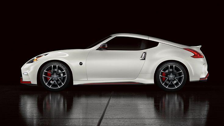 2015 370Z® COUPE NISMO® shown in Pearl White