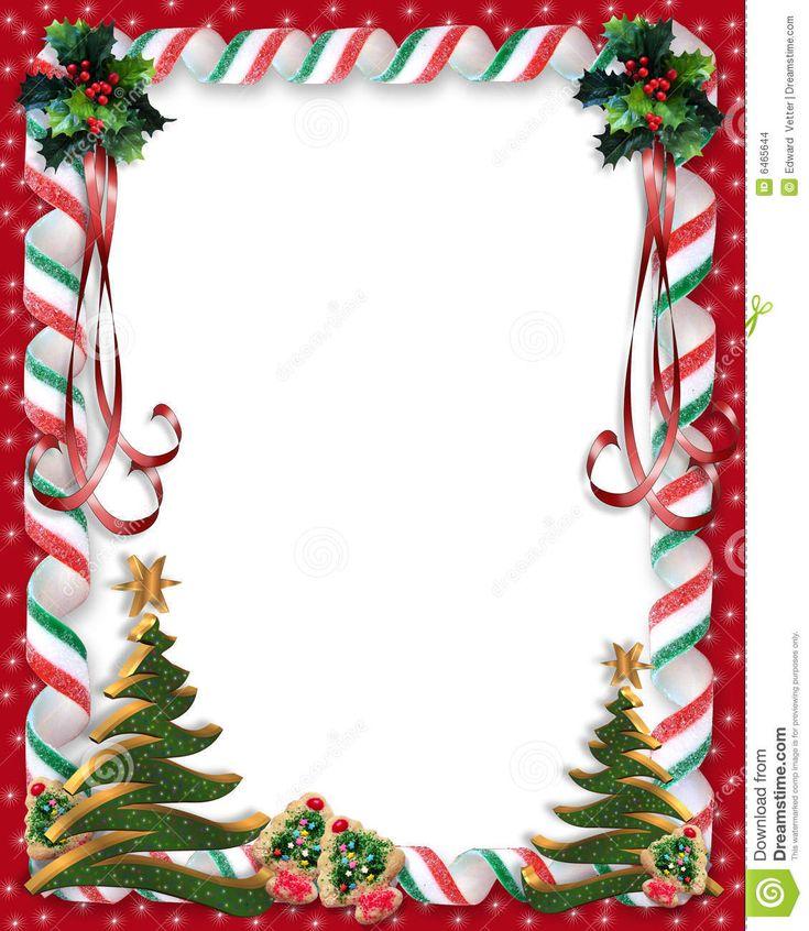 christmas card borders free
