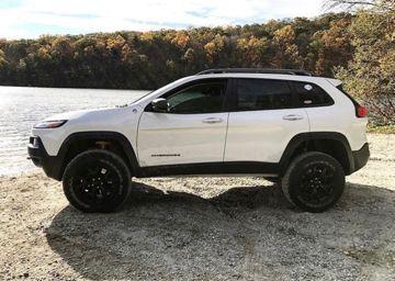 2014- 2017 Jeep Cherokee Lift Kit - TrailHawk + AD1/AD2