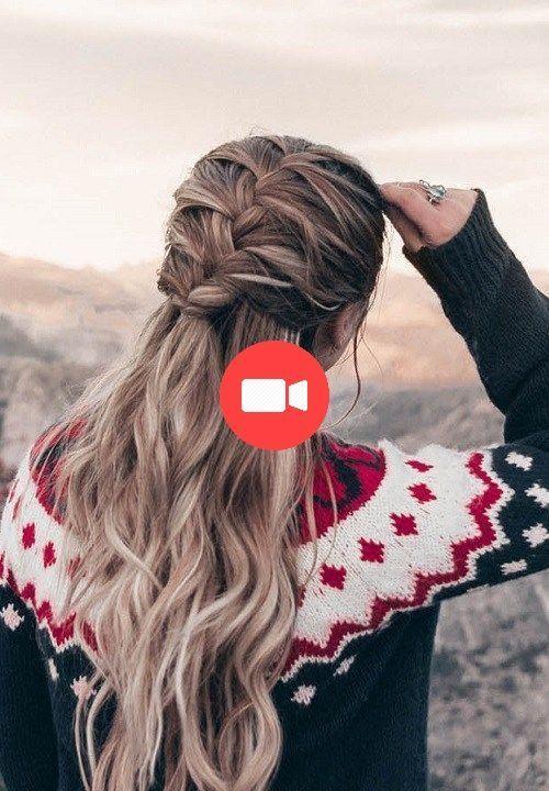 25 +> 54 Coiffures rapides et faciles pour les femmes 2018 2019 - Coiffures faciles - #coiffures #faciles #femmes #rapides - #new