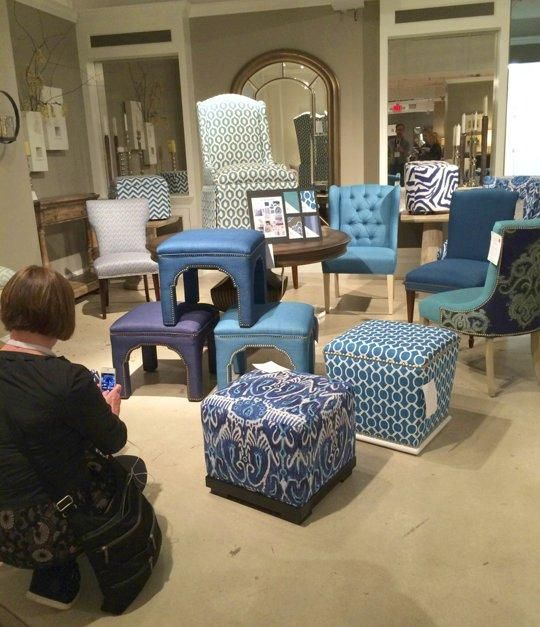 Sea of Blue from Hooker Furniture - Highpoint Market Fall 2013