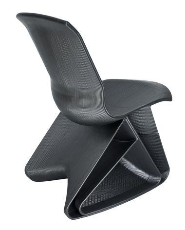 Dirk Vander Kooij's recycled endless chair made with 3D printing