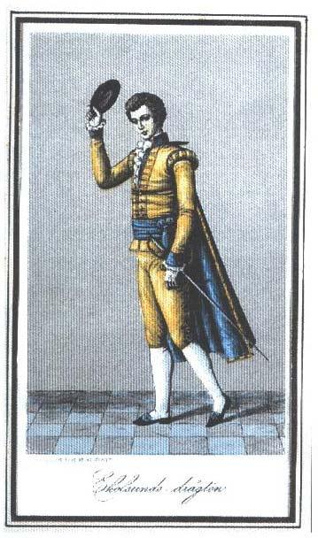 """Ekolsundsdräkten: Gustav III införde 1778 den svenska nationella dräkten. Då hade redan en Ekolsundsuniform varit i bruk sedan 1772.    Julaftonen 1772 lät den klädintresserade kung Gustav III meddela sitt beslut om att införa en Ekolsundsuniform """"Vilket inte förunvades alla att få bära, utan var en naåd för särskilt utvalda"""""""