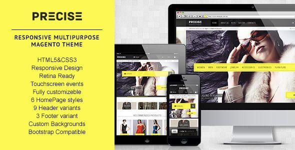 Precise — Multipurpose Responsive Magento Theme - Magento eCommerce