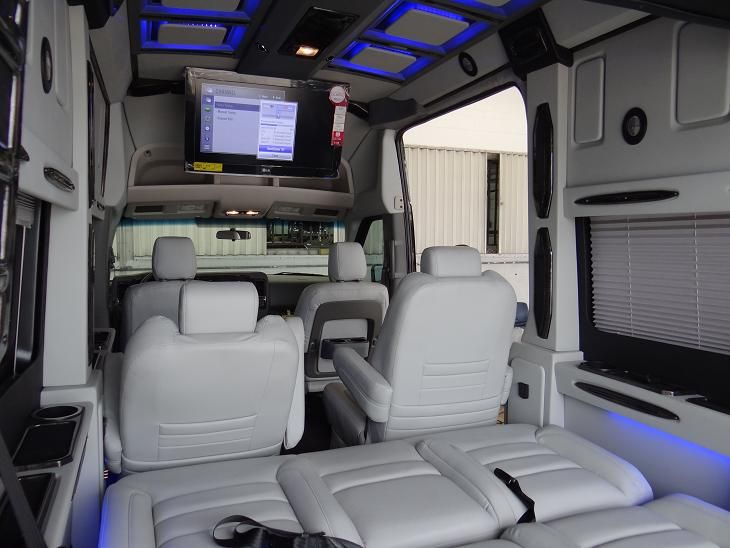 Luxury Nissan NV 2500 Conversion Van in Davie, FL | Luxury ...