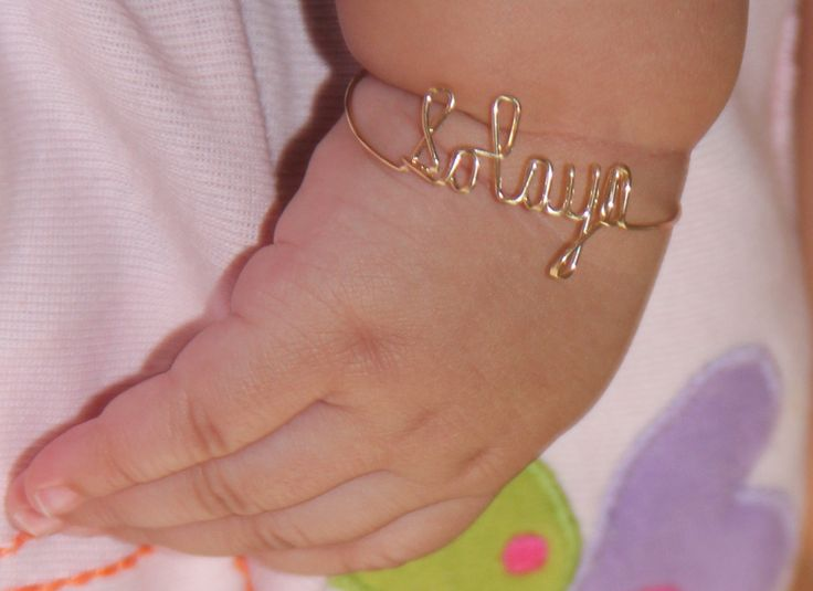 35 Best Images About Baby Bracelet On Pinterest
