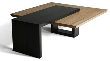 Contemporary Coffee Table | Wormy Maple Coffee Table - contemporary -  coffee tables - other metro