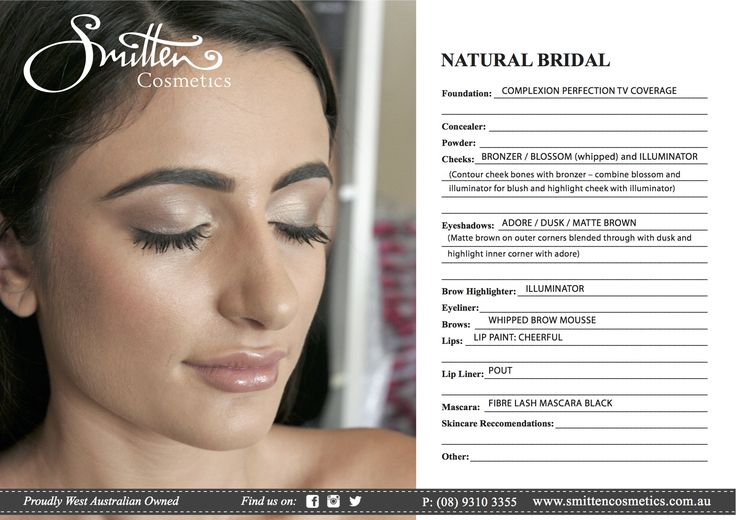 Natural Bridal or good school ball for a softer look. Suits people who don't wear a lot of makeup.