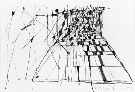 Pen and Ink by Vieira da Silva