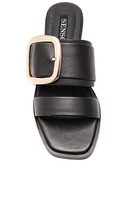 SENSO Harry I Sandal in Ebony | REVOLVE
