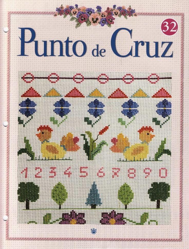 1000 images about revista punto de cruz on pinterest for Punto de cruz para cocina