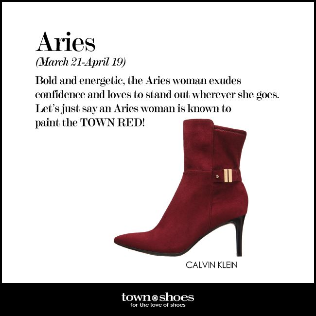 Are you an #Aries who loves to paint the town red? #horoscope #townshoes Find them here: http://ts.townshoes.ca/store/townShoes/en/Categories/Women%27s/Boots/High-Heel-Dress-Boots/%27%27Tapered-Buckle-Short/p/163401005