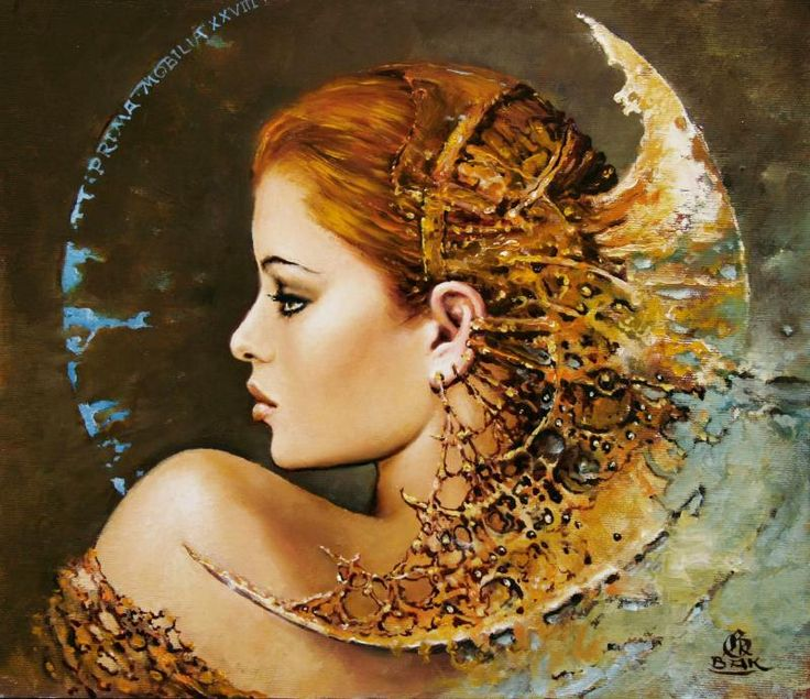 Artistic Depiction, Karol Bak,http://www.karolbak.com ...