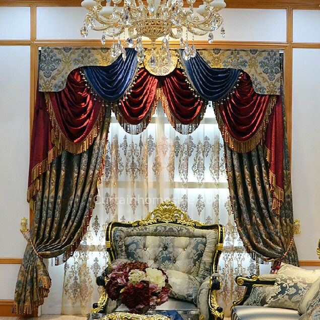 European Style Luxury Victorian Thermal Curtain (Not ...