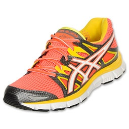 Asics GEL-Blur 33 2.0 Women's Running Shoes| FinishLine.com | Hot Coral/White/Sulfer Yellow