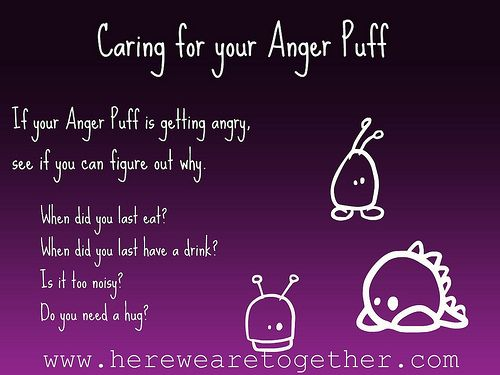 Dealing with Anger in Children : Own your Anger : Make an Anger Puff