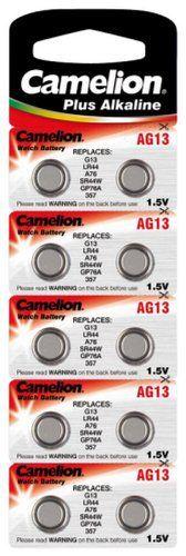 CAMELION alkaline-pile bouton aG13 1,5 v, 10-sous blister: CAMELION alkaline-pile bouton aG13 1,5 v, 10-sous blister Cet article CAMELION…